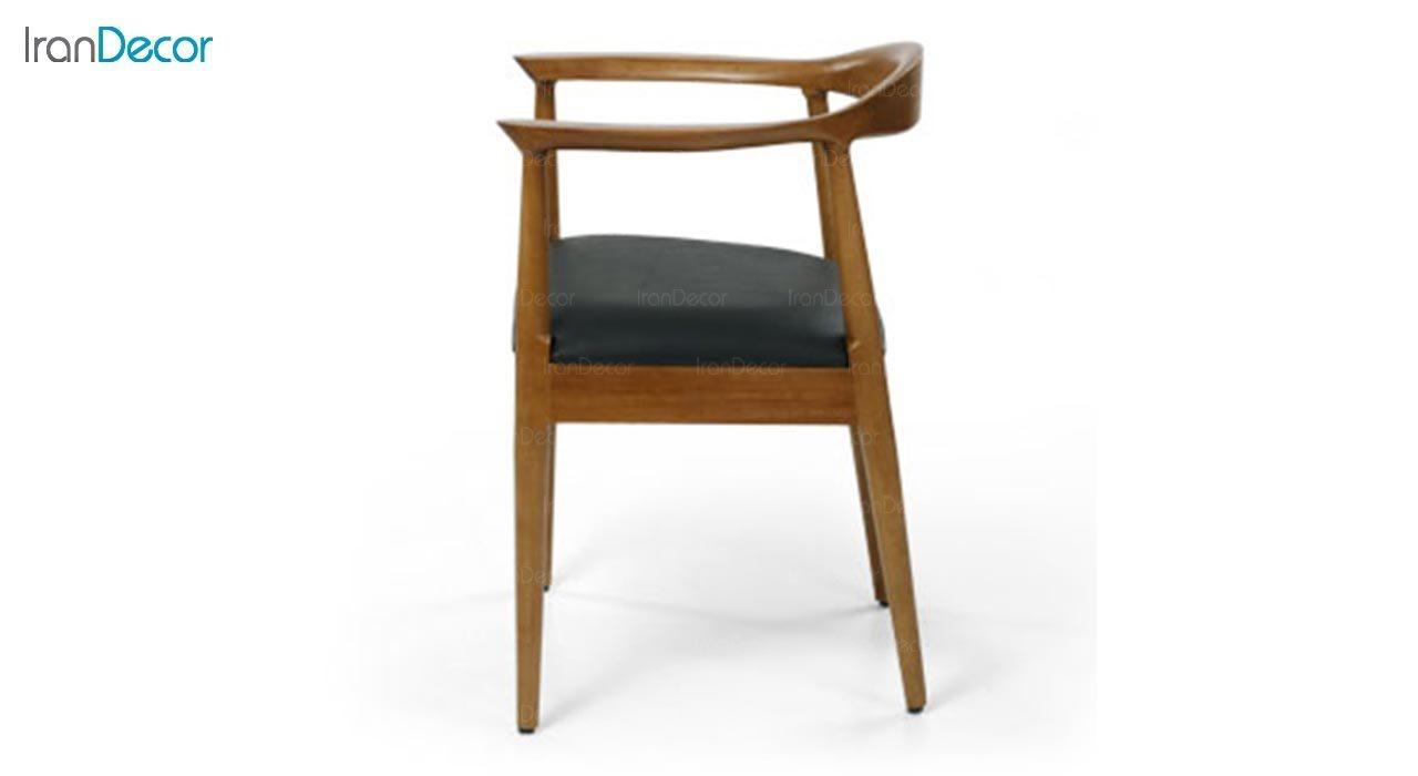 تصویر صندلی دسته دار چوبی جهانتاب مدل ریتا