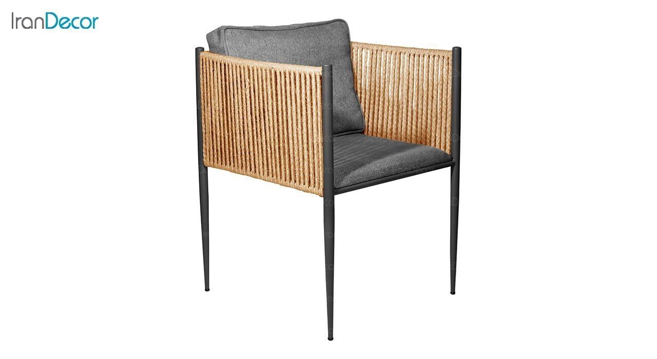تصویر صندلی فلزی جهانتاب مدل زنیت کد 4524