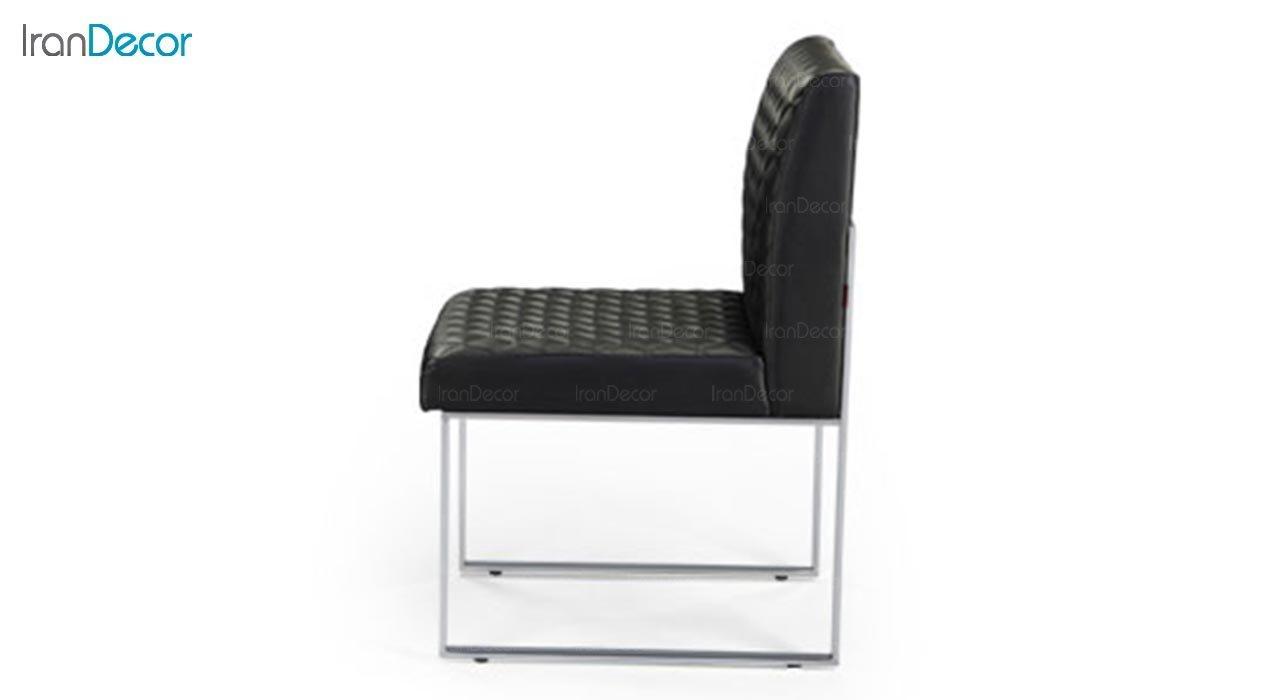 تصویر صندلی پایه فلزی جهانتاب مدل تونا