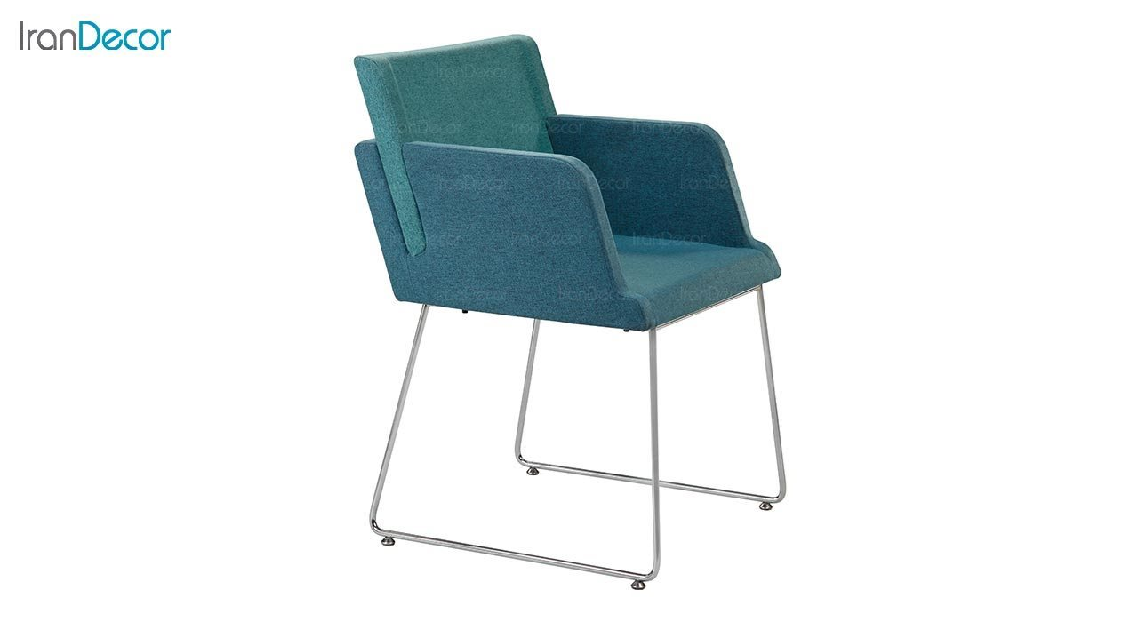 تصویر صندلی دسته دار پایه فلزی جهانتاب مدل پنتون کد 1701