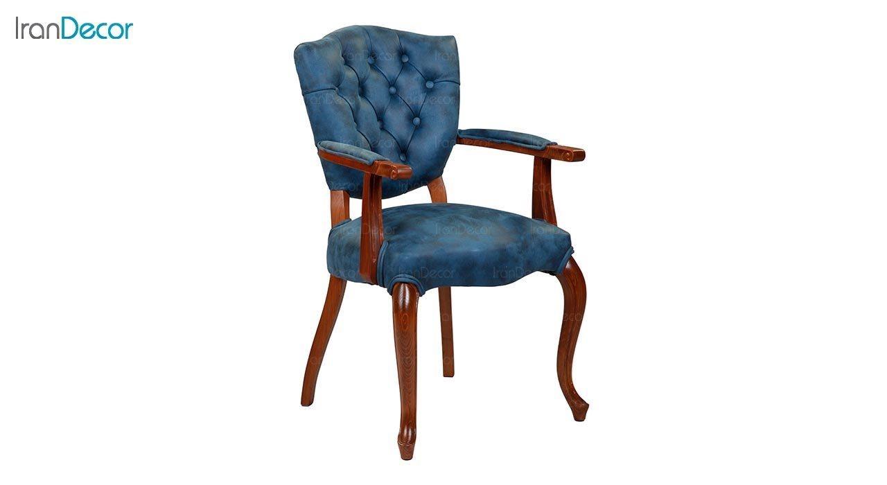 عکس صندلی کلاسیک دسته دار جهانتاب مدل لوتوس کد 1741