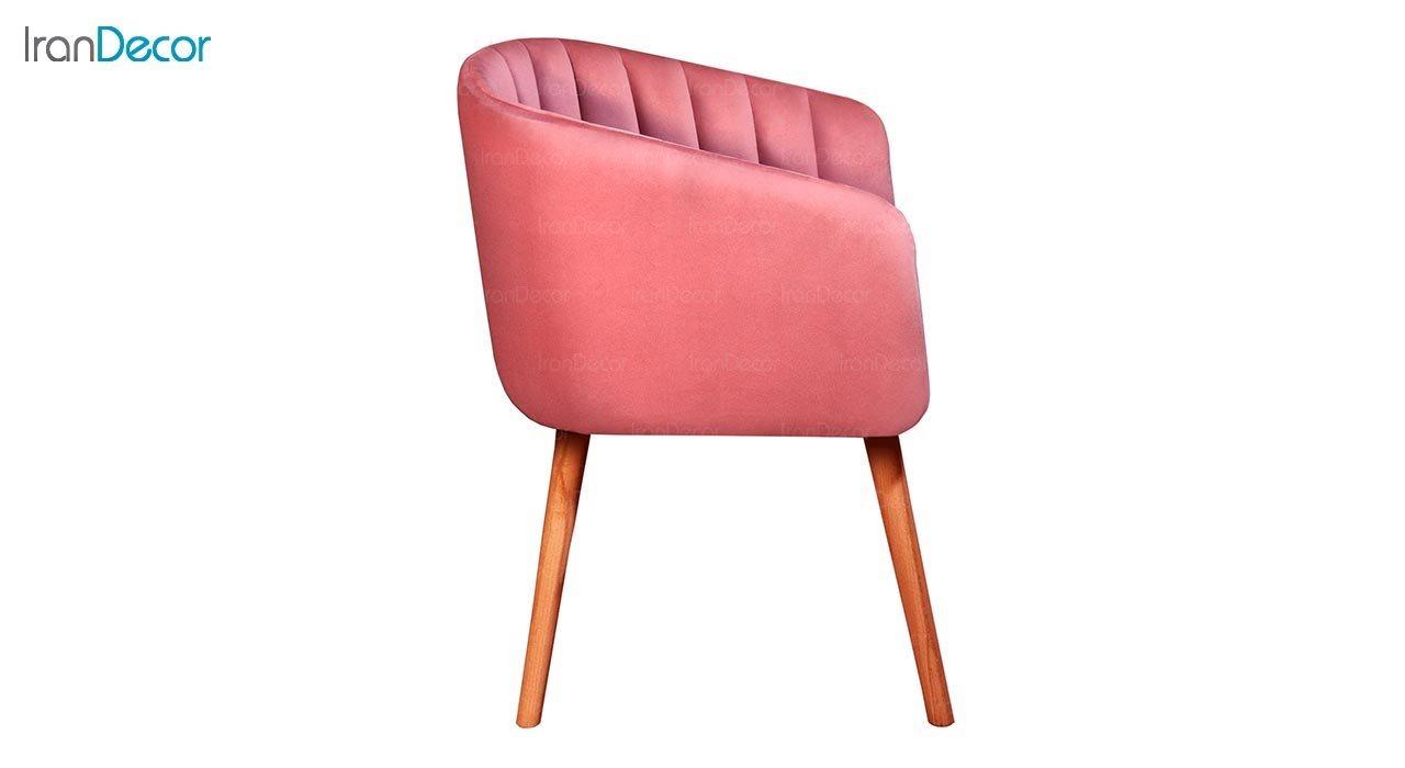 تصویر صندلی دسته دار جهانتاب مدل شل کد 4523