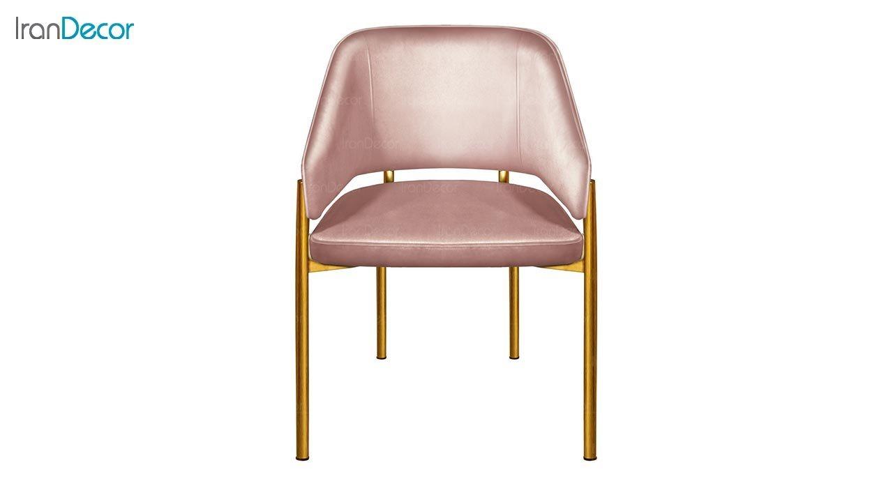 تصویر صندلی دسته دار پایه فلزی جهانتاب مدل سانس کد 4522