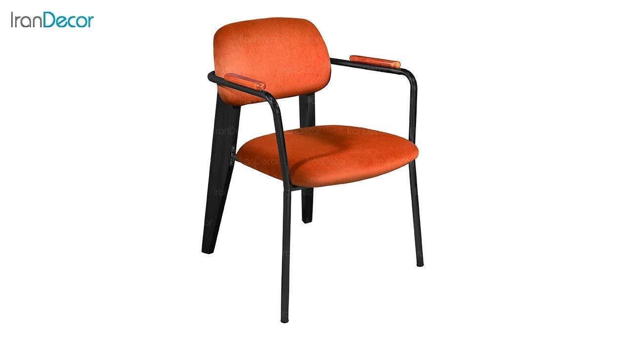 تصویر صندلی دسته دار جهانتاب مدل فیوژن کد 4521 با پایه رنگی