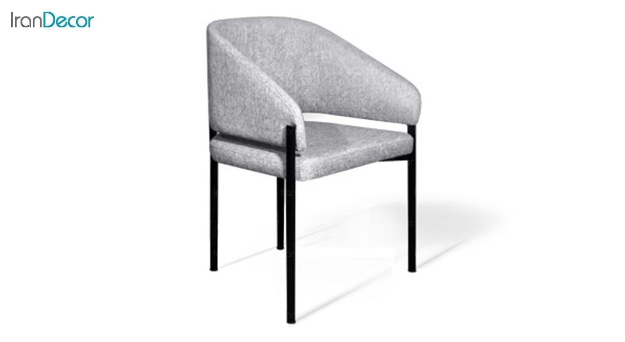 تصویر صندلی دسته دار جهانتاب مدل سانس کد 4522 با پایه رنگی