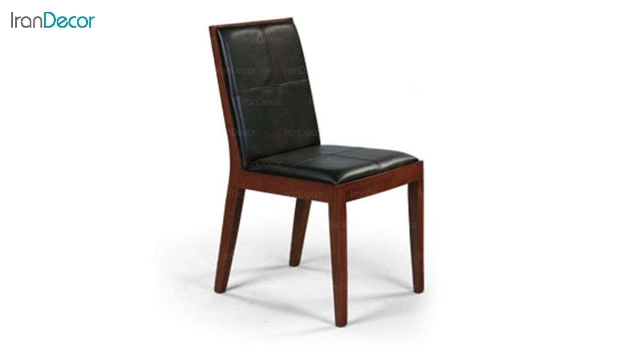 عکس صندلی چوبی جهانتاب مدل روبیک