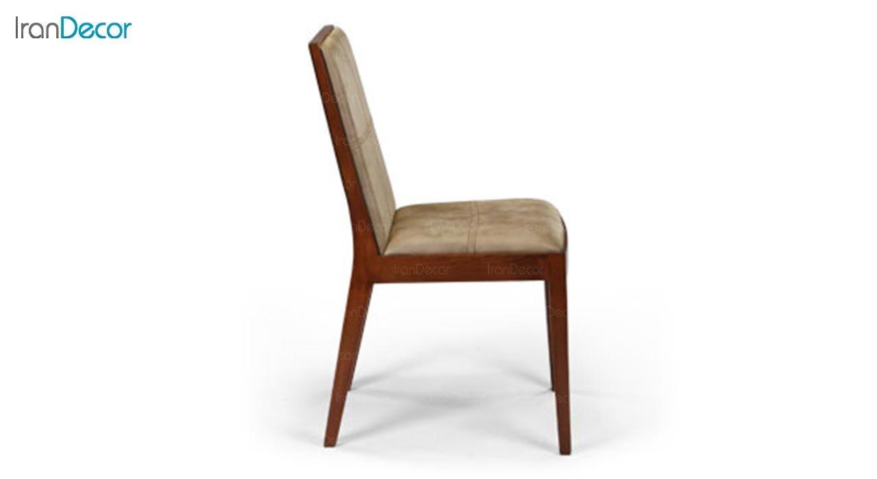 تصویر صندلی چوبی جهانتاب مدل روبیک