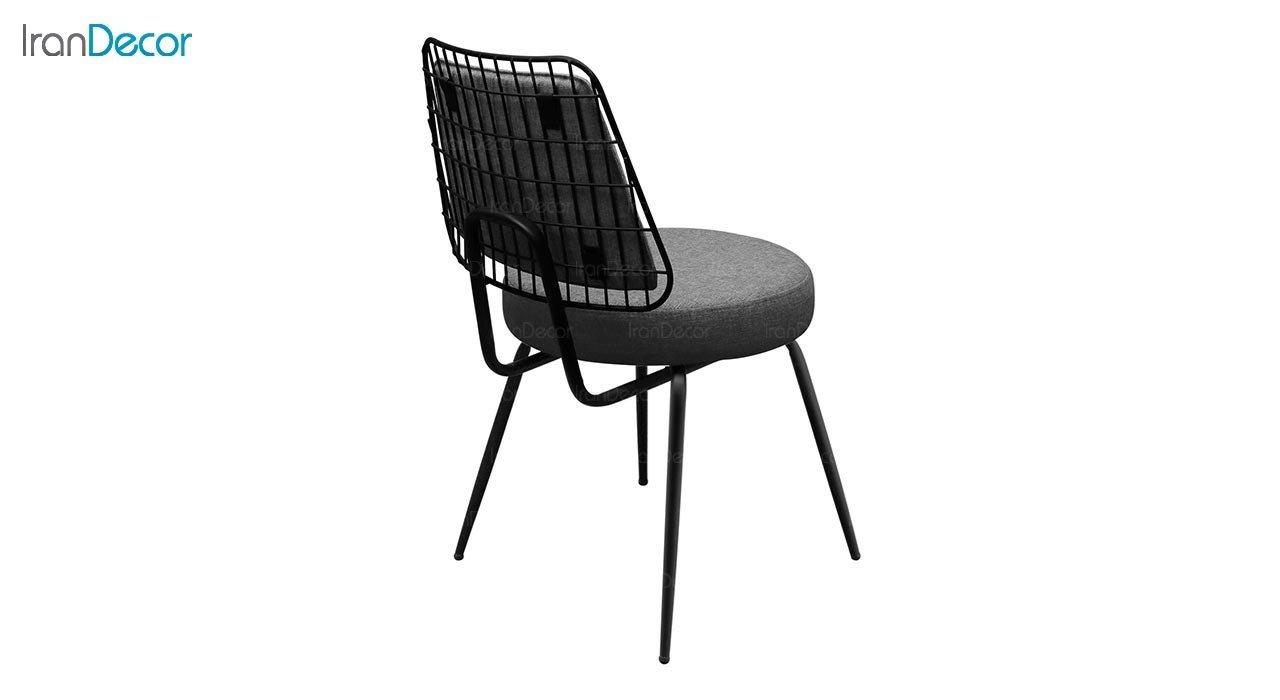 تصویر صندلی فلزی جهانتاب مدل فنسی