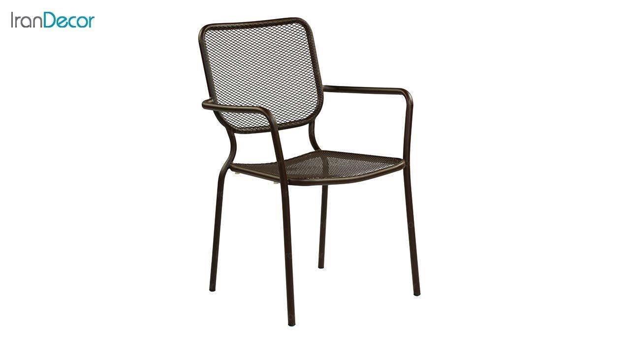 تصویر صندلی دسته دار فلزی جهانتاب مدل کارینا کد 1955