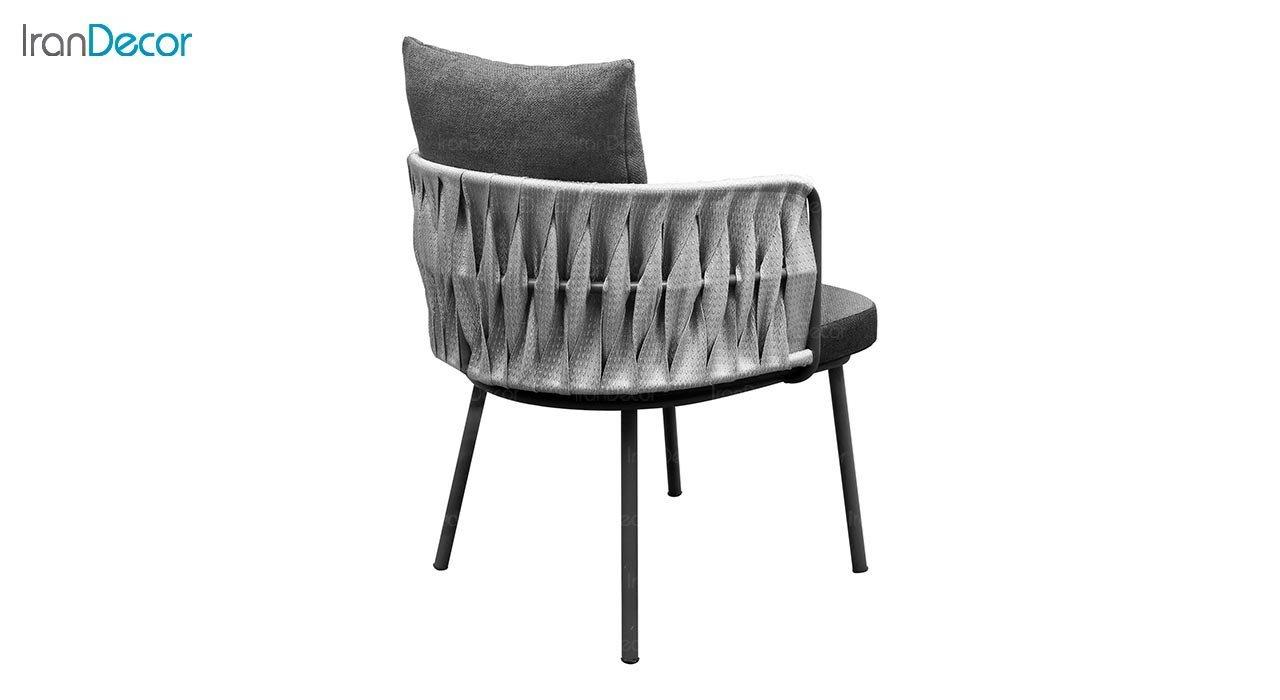 تصویر صندلی دسته دار فلزی جهانتاب مدل ارتا کد 2023
