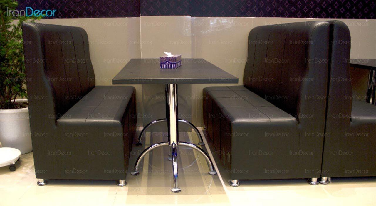 تصویر میز مستطیل پایه فلزی جهانتاب مدل 1034 کد 4221