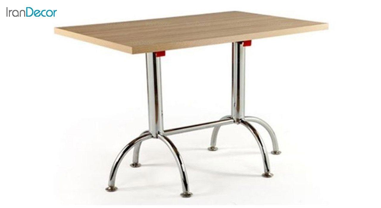 تصویر میز مستطیل پایه فلزی تاشو جهانتاب مدل 1034F کد 4231