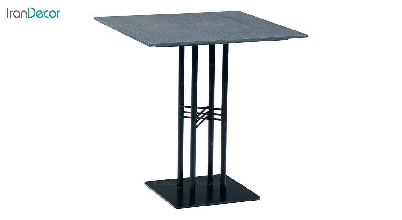تصویر میز پایه فلزی جهانتاب مدل آکاچیا کد 1941