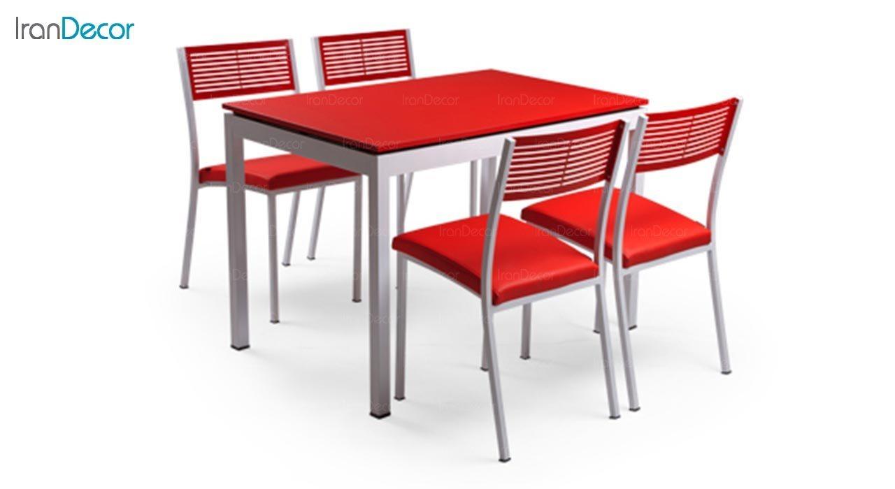 تصویر سرویس میز ناهار خوری جهانتاب مدل آدریا