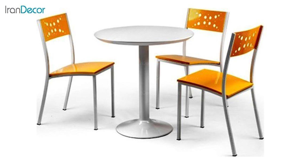 عکس سرویس میز ناهار خوری جهانتاب مدل 1026 با صندلی آدریا