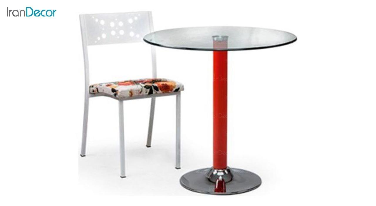 تصویر سرویس میز ناهار خوری جهانتاب مدل 1026 با صندلی آدریا