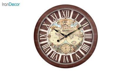 تصویر ساعت دیواری شوبرت مدل 6770