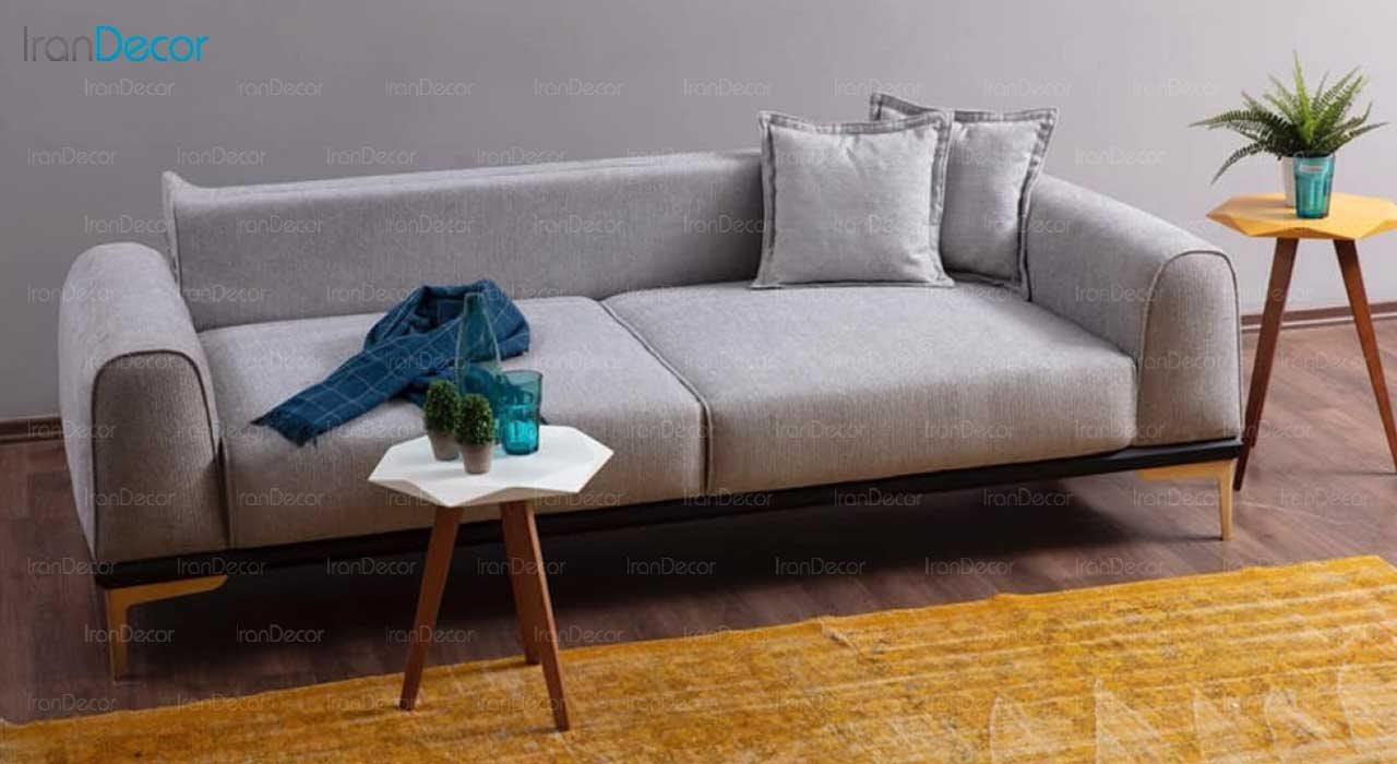 تصویر کاناپه سه نفره تختخواب شو مدل نیروانا